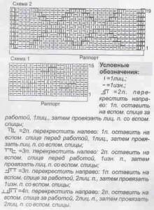 """узор """"ромбы""""  и узор """"косы"""""""