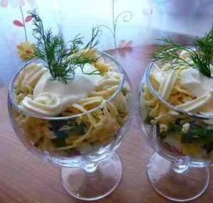 салат- коктейль «Беловежская пуща»